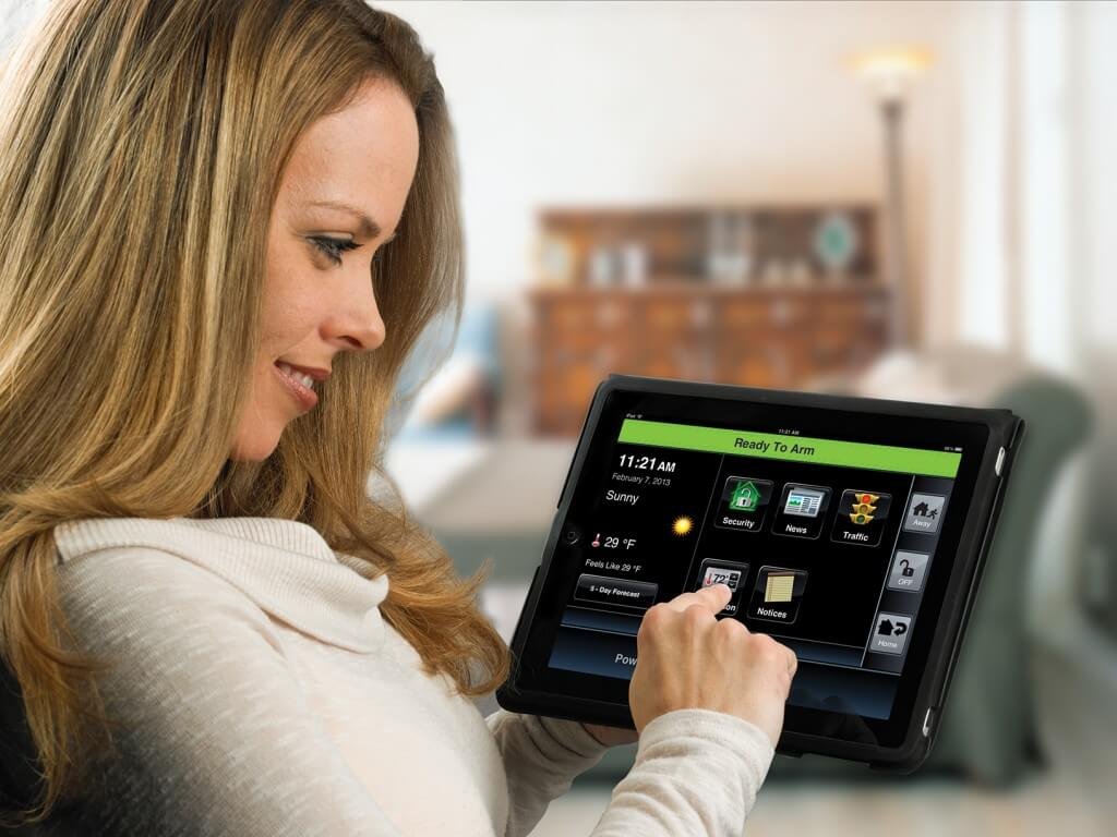 Control your Pioneer Security home burglar alarm from your tablet or phone.