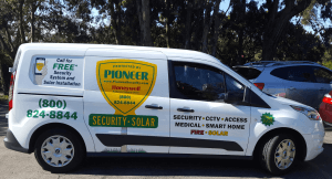 New Service Truck for Pioneer Security