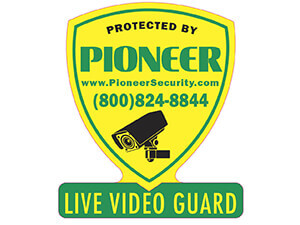 Pioneer Sign: Live Video Guard